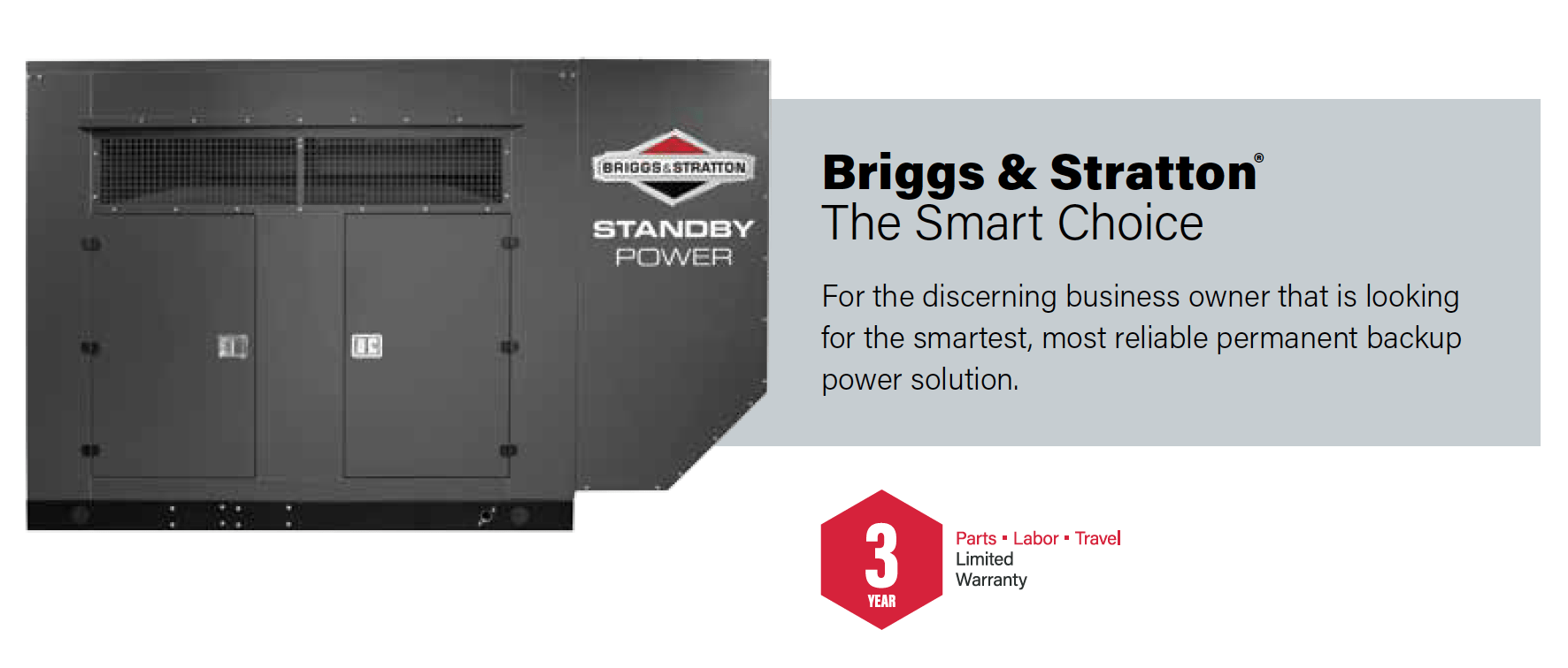 briggs stratton 125 kw home generator system bay motor. Black Bedroom Furniture Sets. Home Design Ideas